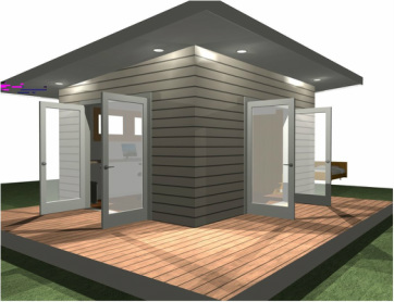 Granny flats home for Modular granny flat california